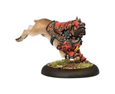 Warmachine Khador War Dog Warcaster Attachment WEB
