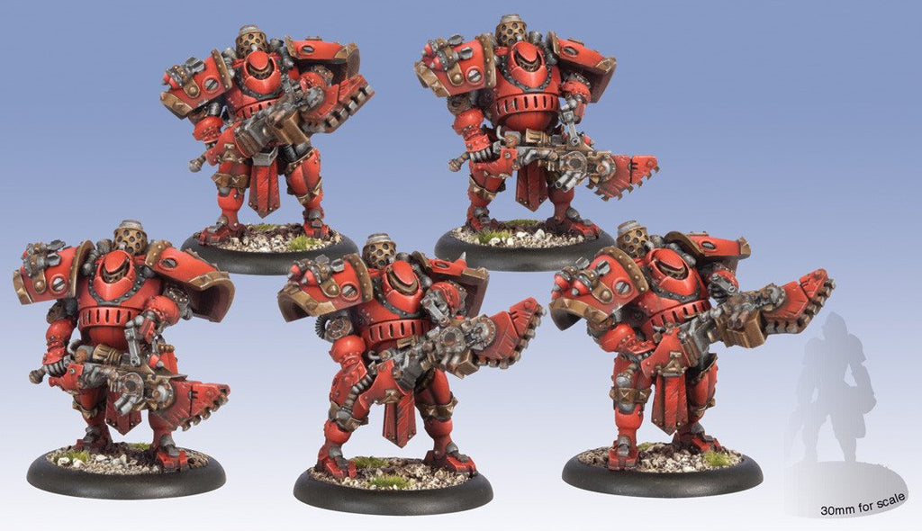 Warmachine Khador Man-O-War Bombardiers Plastic Box WEB