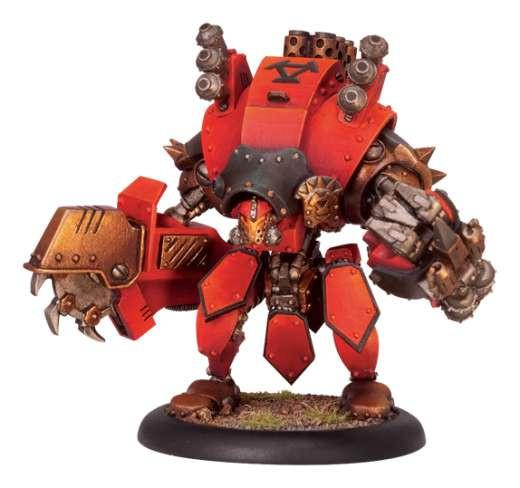 Warmachine Khador Torch Character Heavy Warjack Upgrade Kit WEB