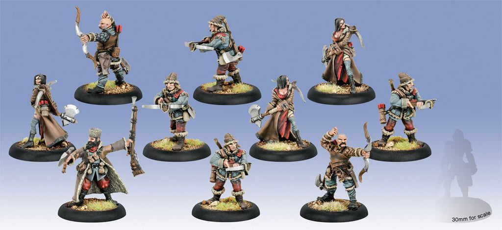 Warmachine Khador Kossite Woodsmen Unit (10) Box WEB