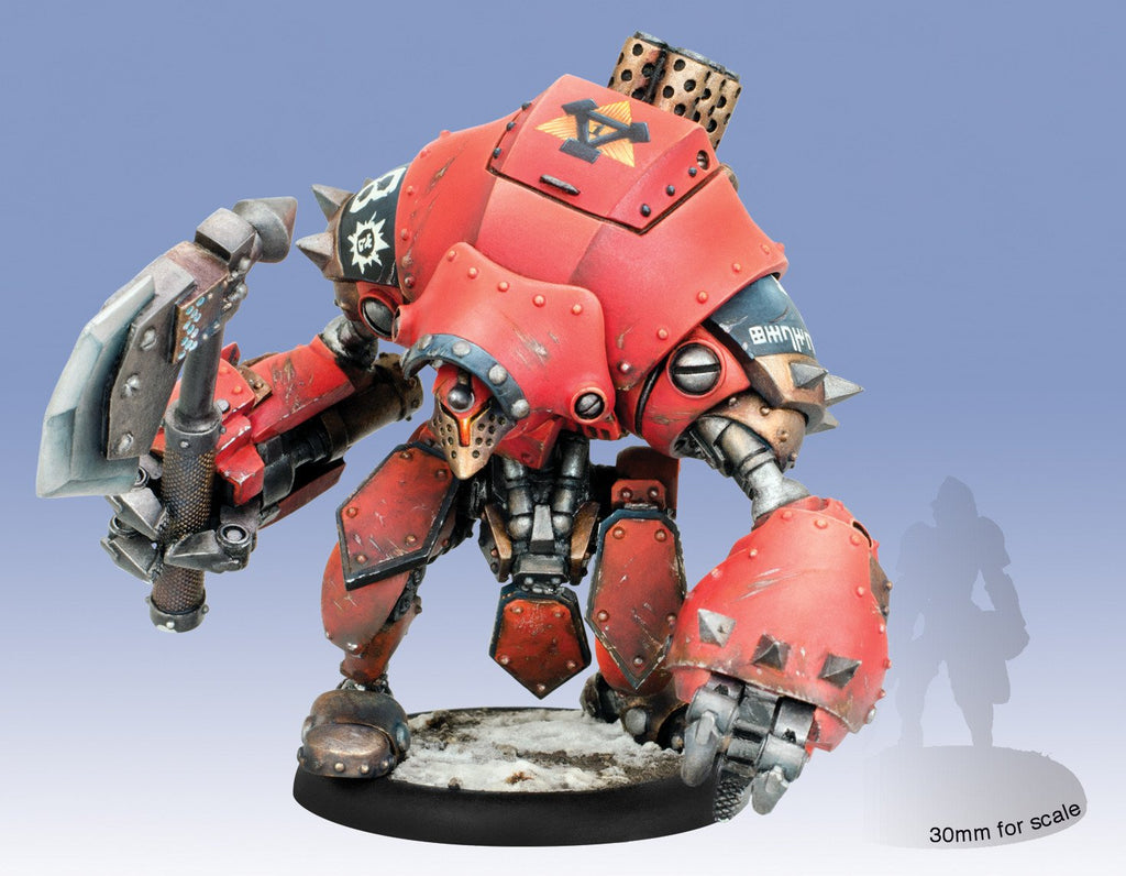 Warmachine Khador Extreme Juggernaut Warjack (resin & white metal) Box WEB