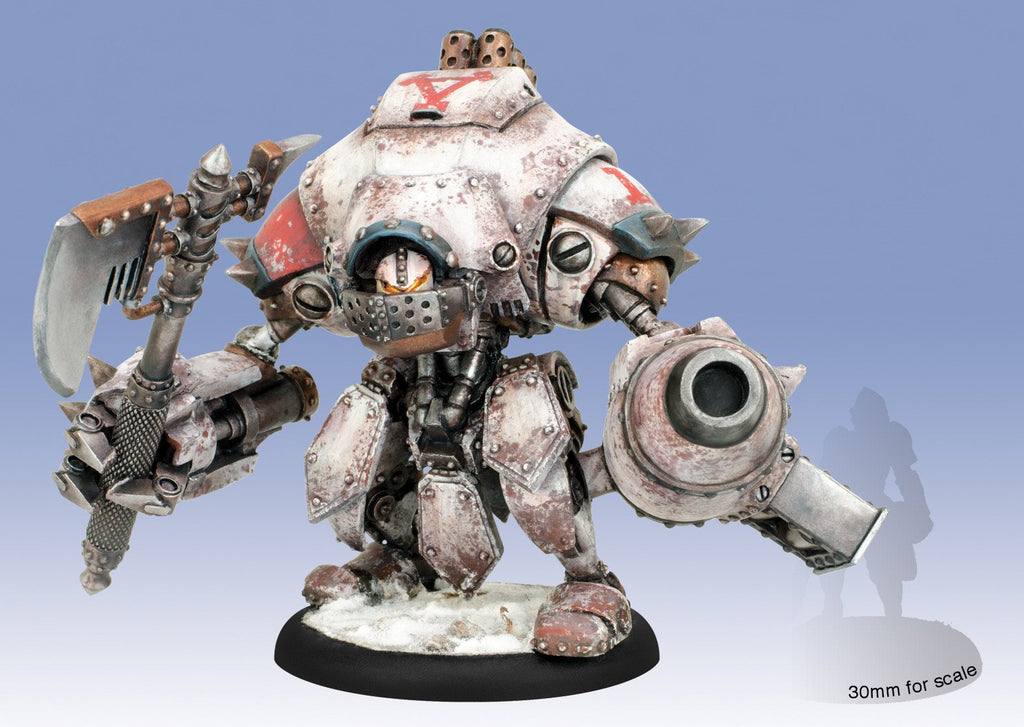Warmachine Khador Extreme Destroyer Warjack (resin & white metal) Box WEB