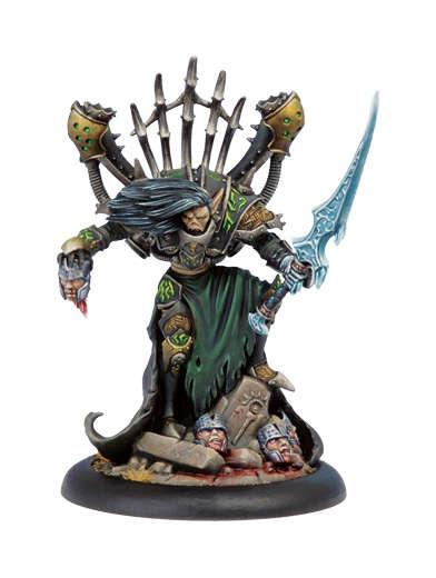 Warmachine Cryx Epic Warcaster Goreshade The Cursed WEB