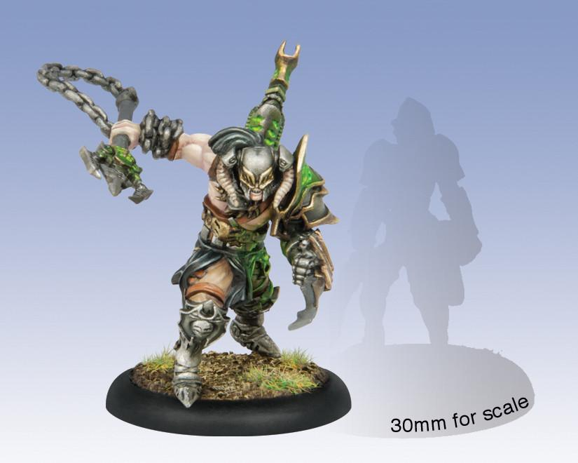 Warmachine Cryx Aiakos Scourge of the Meredius Character Solo WEB