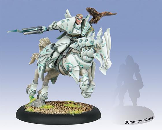 Warmachine Retribution Vyros Incissar of the Dawnguard Cavalry Epic Warcaster WEB