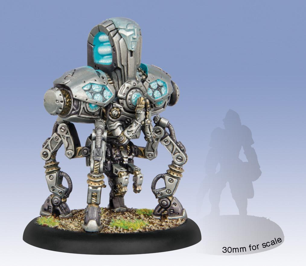 Warmachine Convergence Enigma Foundry Solo WEB