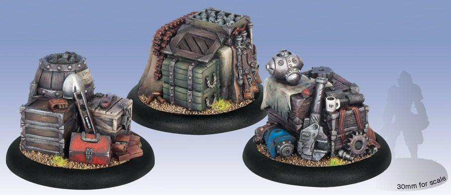 Warmachine Objective Markers WEB