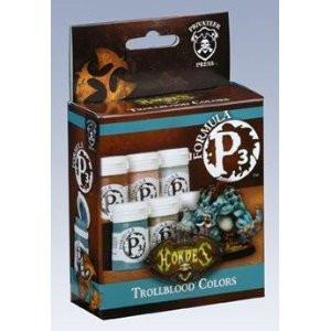 Hordes Trollblood P3 Paint Box