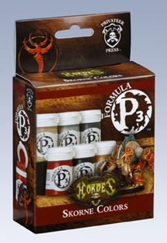 Hordes Skorne Colors P3 Paint Box