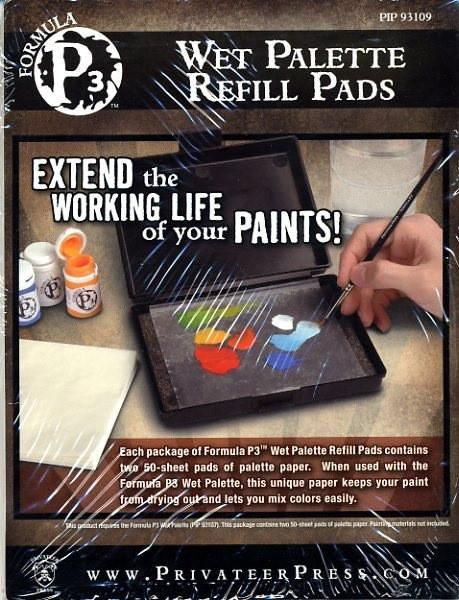 Privateer Press P3 Wet Palette Refill Pads