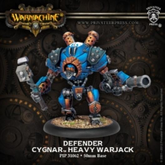 Warmachine Heavy Warjack Plastic Kit (Cyclone Defender or Ironclad) WEB