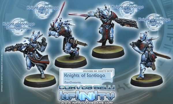 Infinity PanOceania Knights of Santiago (4) BOX WEB