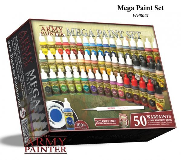 Army Painter Warpaints Mega Paint Set III (NEW 2017)  WEB