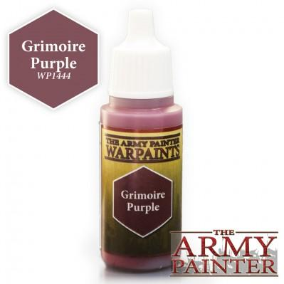 """Army Painter Warpaints Grimoire Purple  18ml