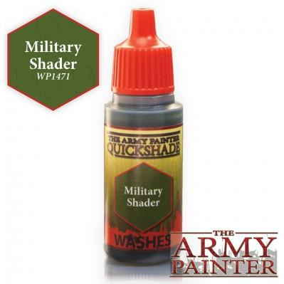 """Army Painter Warpaints Military Shader  18ml