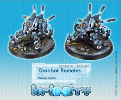 Infinity PanOceania Dronbot Remotes  REM BOX (2) WEB