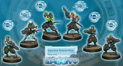 Infinity Yu Jing Japanese Sectorial Army (Yu Jing Sectorial Starter Pack) BOX 6 WEB