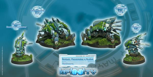 Infinity PanOceania Armbots Peacemaker and Auxbot BOX (2) WEB