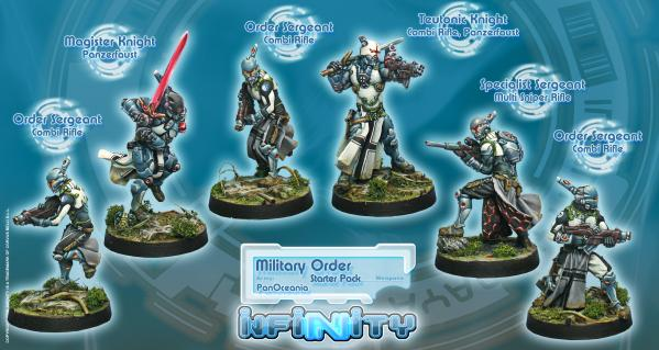 Infinity PanOceania Military Order (PanOceania Sectorial Starter Pack) BOX (6) WEB