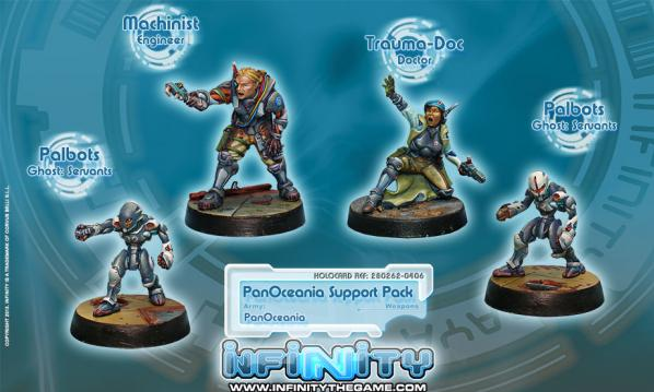 Infinity PanOceania PanOceanian Support Pack (4) BOX WEB