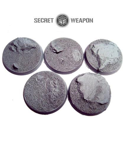 """Secret Weapon Beveled Edge: 40mm Desert Wasteland (5)