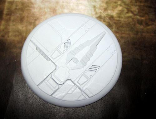 """Secret Weapon Round Lip: 80mm Tau Ceti (1)