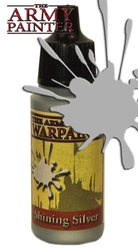 """Army Painter: Warpaints Shining Silver 18ml