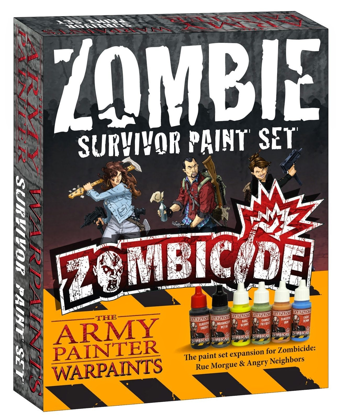 """Army Painter Zombicide: Season 3 - Survivor expansion paint set