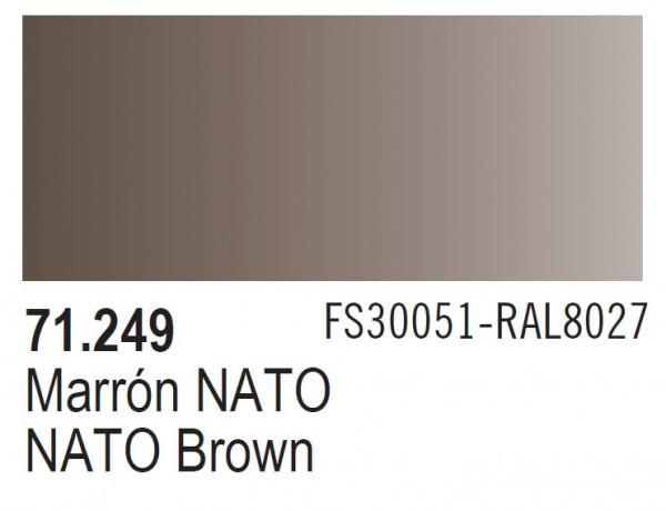 """Vallejo Model Air 17ml NATO Brown