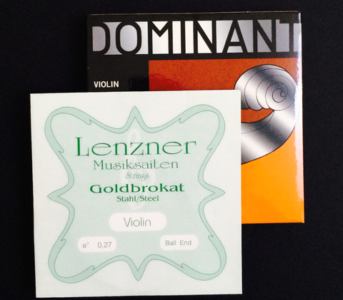 Thomastik-Infeld Dominant Strings Special Set A, D, G, with Lenzner Goldbrokat E