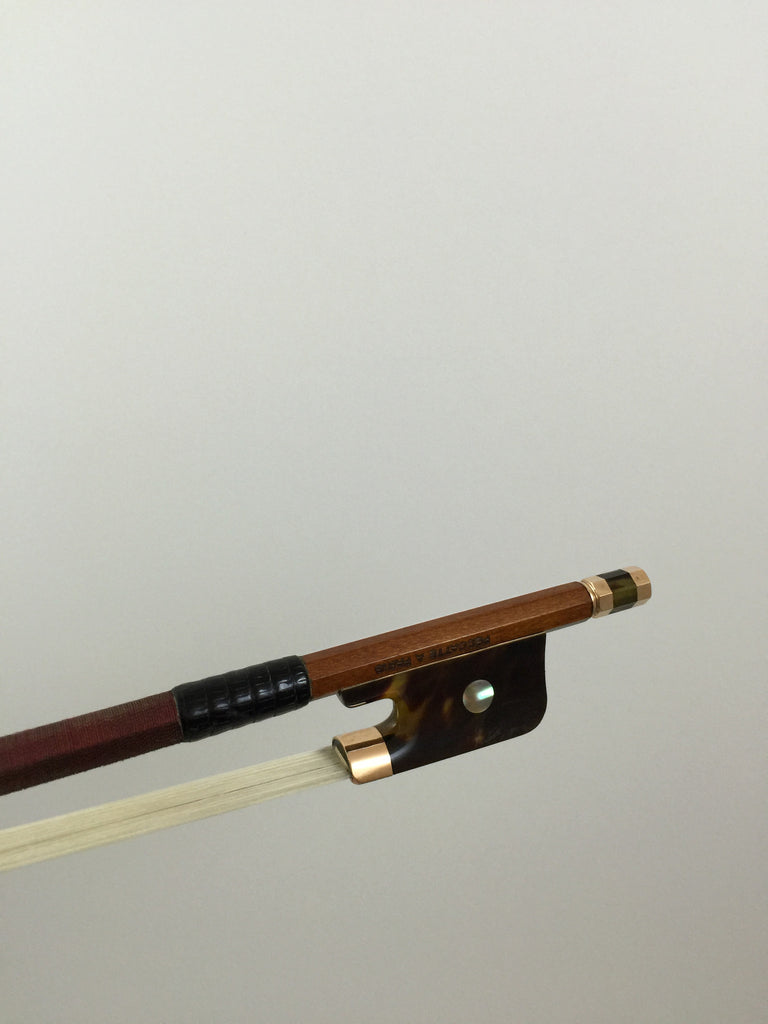 Pernambuco - 10K Gold Mount Peccatte A Paris Model Cello Bow
