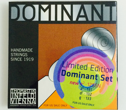 Thomastik-Infeld Dominant 4/4 Violin Strings Set w/Removable Ball E