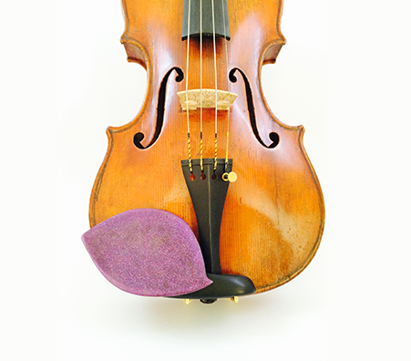 "GelRest Chinrest Pad - Guarneri ""Amethyst Sparkle"""