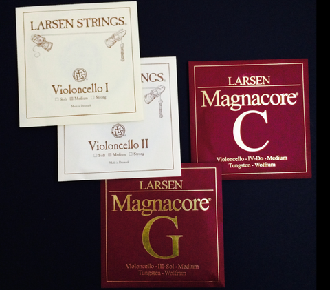 Special Set LARSEN Plain A, D and LARSEN Magnacore G, C