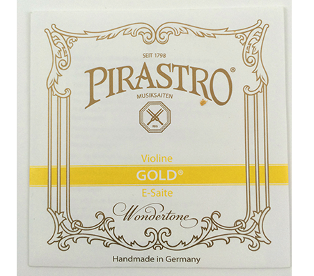 Pirastro Gold Wondertone E for Violin