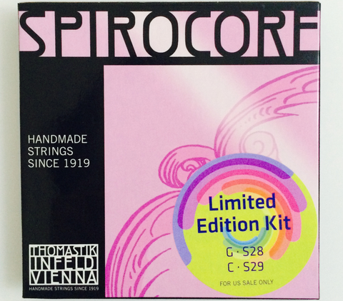 Thomastik-Infeld Spirocore Special Limited Edition Kit Cello G & C Chromesteel Set
