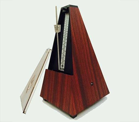 Wittner Maelzel Metronome - Mohogany with Plastic Case
