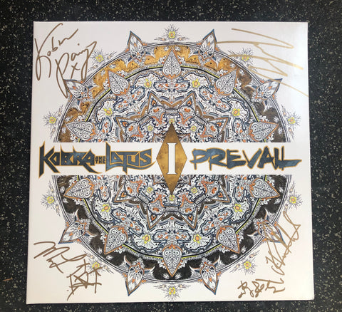 Limited Edition PREVAIL I Autographed Vinyl (White) Napalm Records 2017