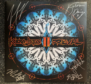 Limited Edition PREVAIL II Autographed Vinyl (White/Blue Marble) Napalm Records 2018