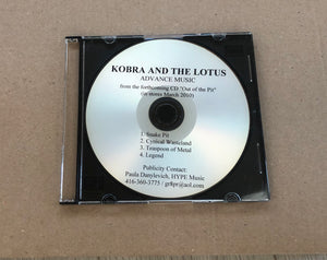 Limited Edition 3 Song Demo OOTP Label Shop Demo