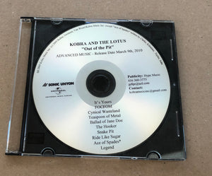 Limited Edition Out Of The Pit Label Shop Demo *2 only*