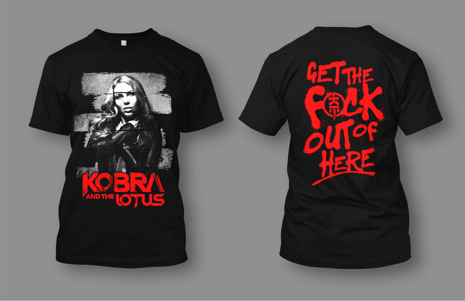 **NEW** Get The F*ck Out Of Here! T-shirt