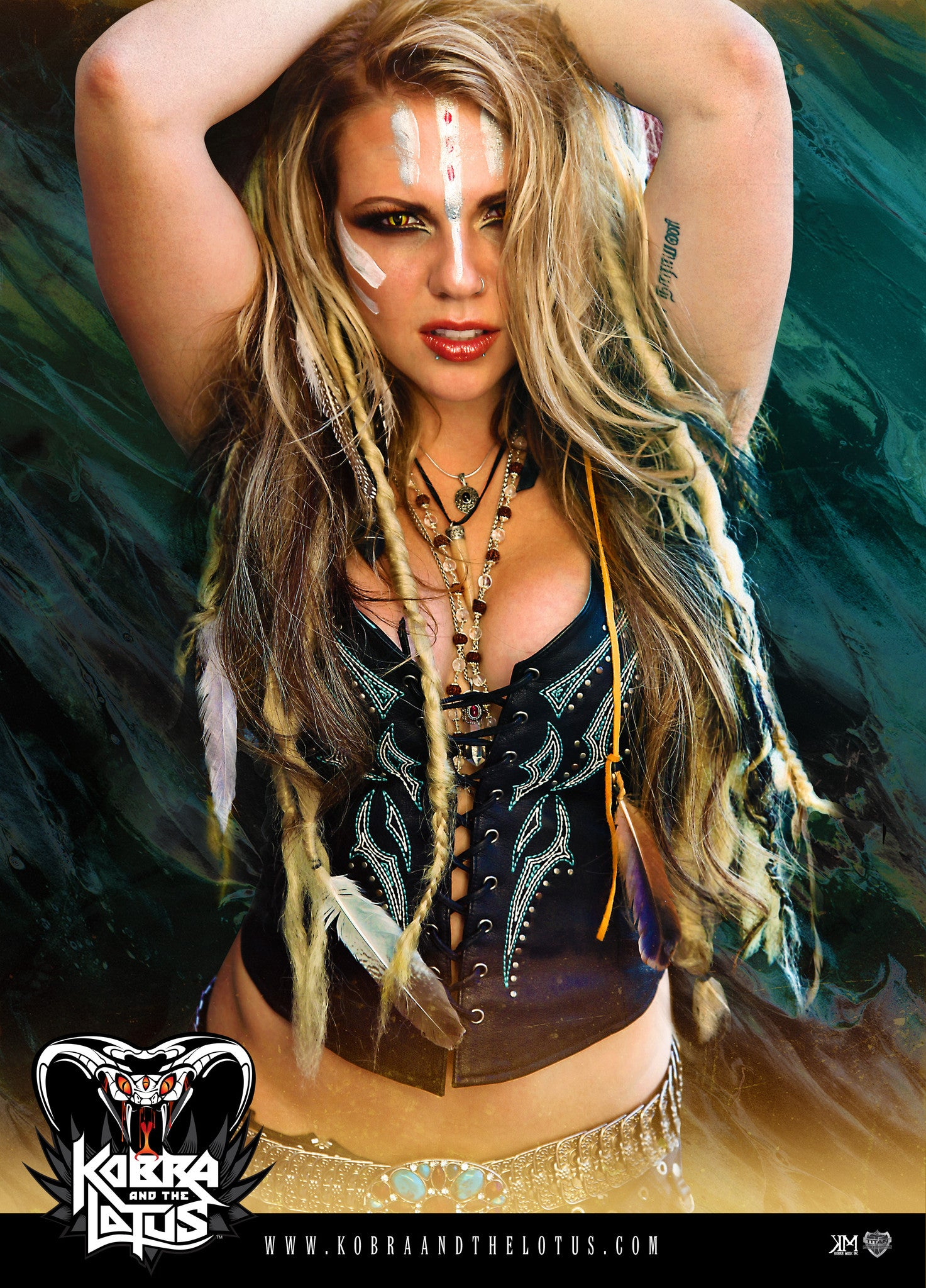 Autographed Shaman Kobra Poster Limited Edition