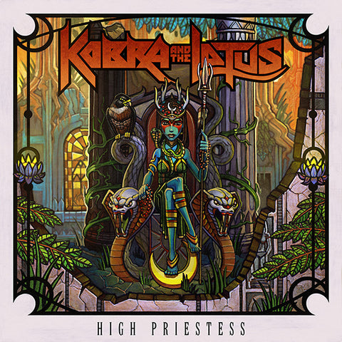 High Priestess Limited Edition Autographed Vinyl 2014 Release **NORTH AMERICA ONLY**