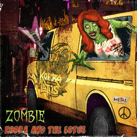 Zombie Vinyl Limited Edition Release 2015