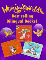 Bilingual Book Collection (3 Hardcover English / Spanish Books)