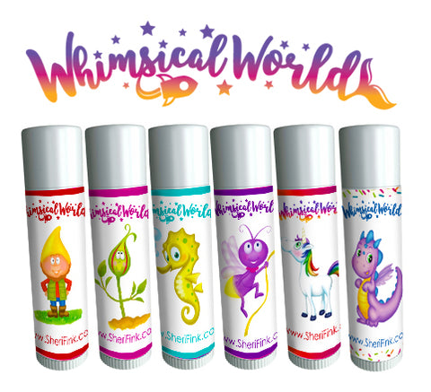 Whimsical World Lip Balm Collection