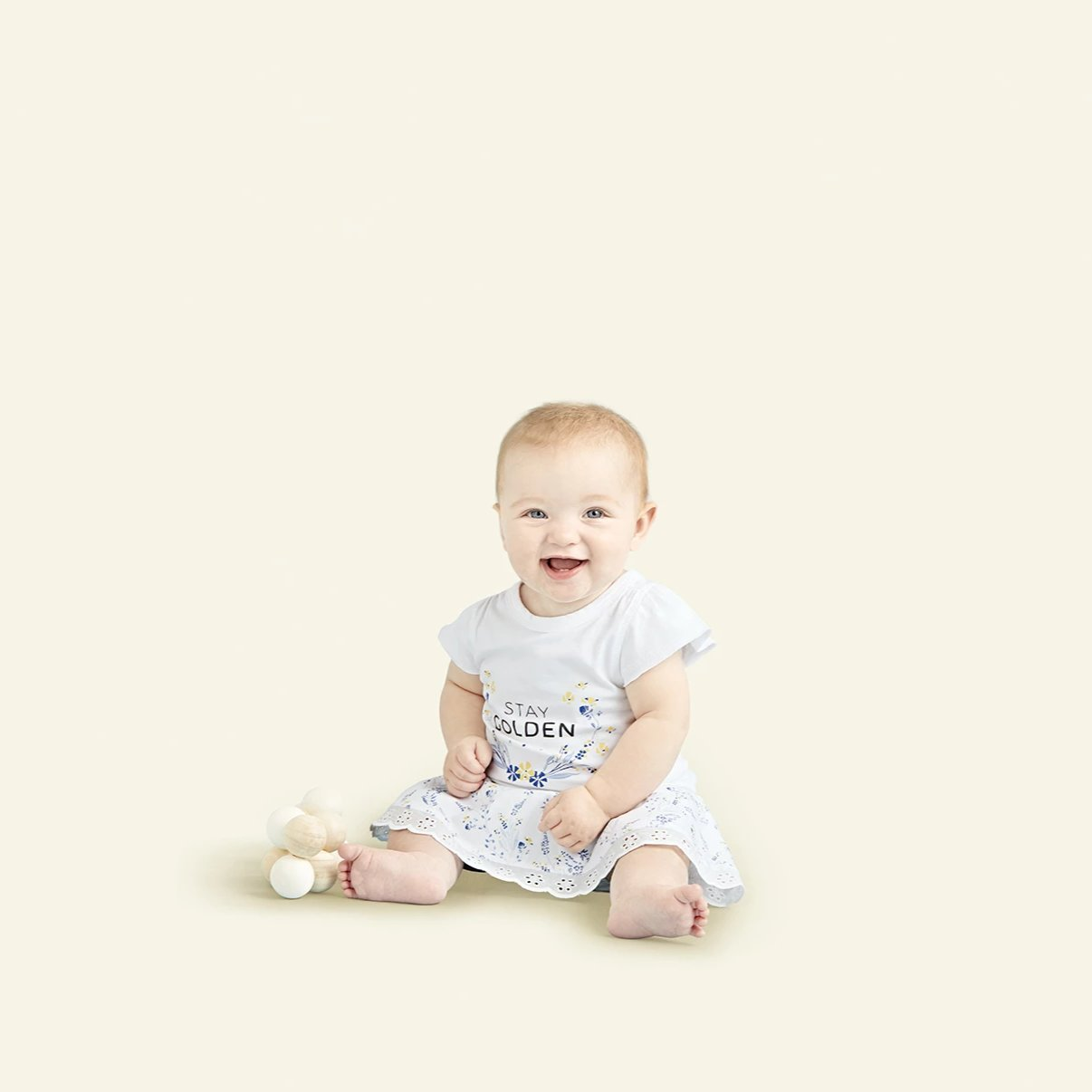 Meadow Skirt Bloomers - Sapling Organic Baby Clothes