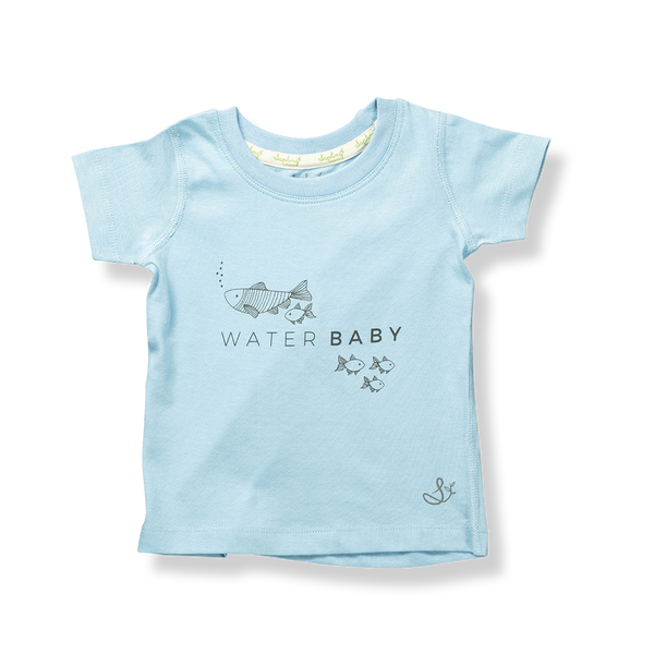 Water Baby Tee - Sapling Organic Baby Clothes