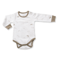 Bunny Long Sleeve Bodysuit - Sapling Organic Baby Clothes